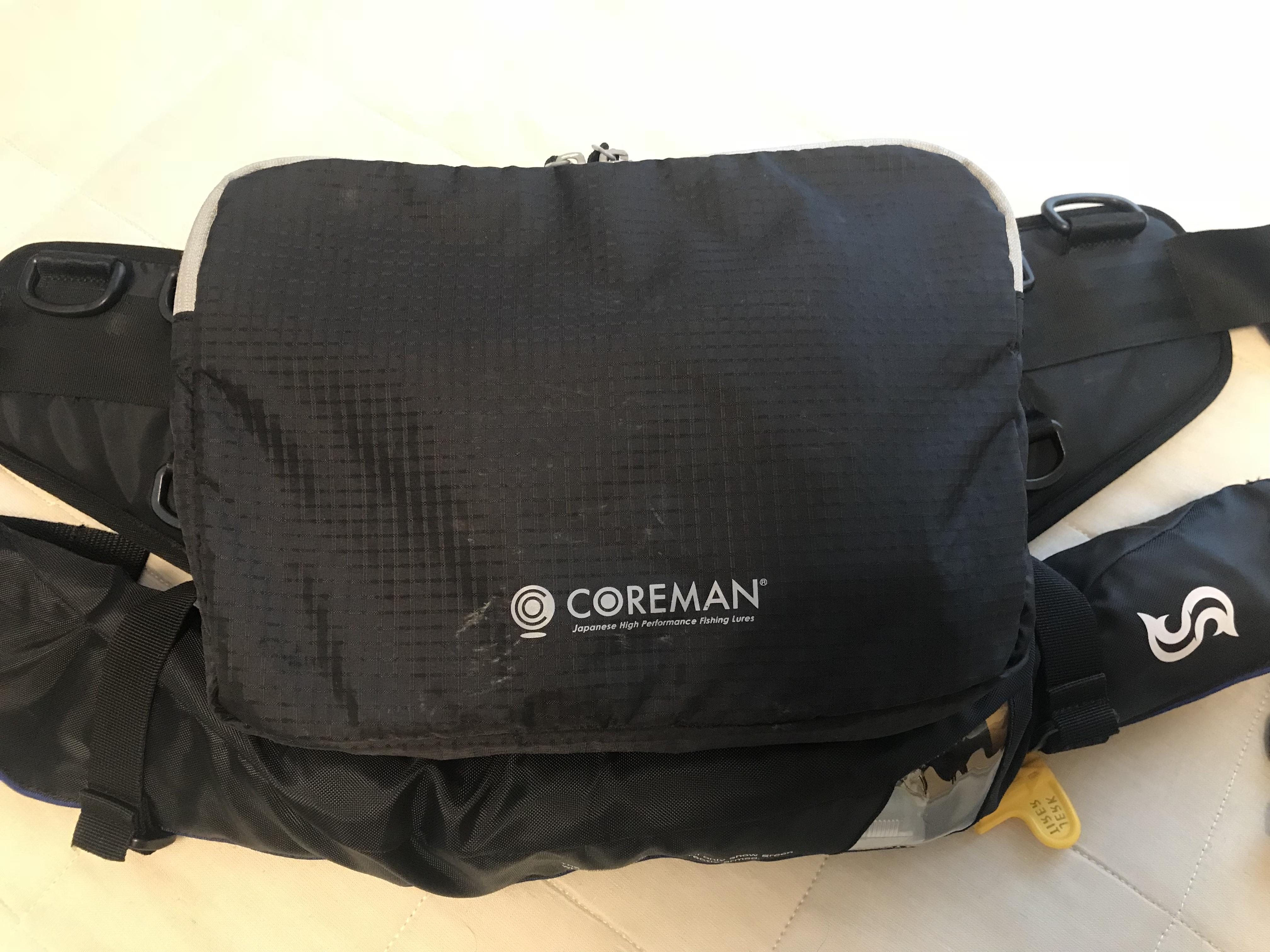 コアマン  ショアスタイルバッグ のインプレ